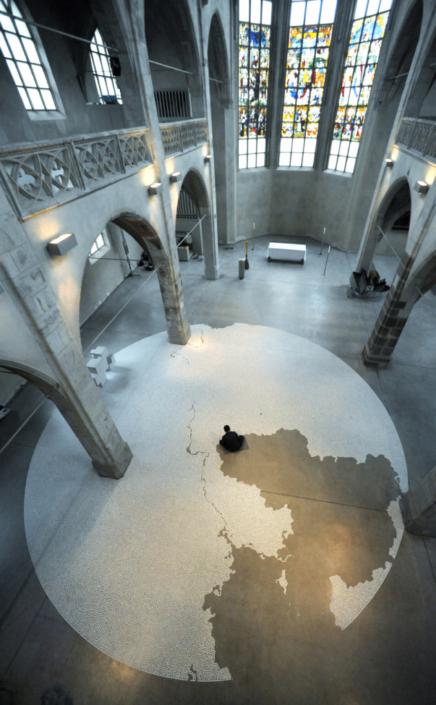 クンストステーション・サンクトペーター教会 (ケルン) / 個展 ザルツ / 2010 Photo: Stefan Worring